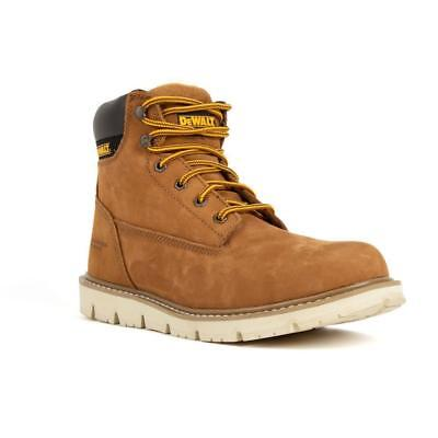 DeWALT Mens Footwear Flex Wedge Boot steel toe lightweight ProComfort Leather ()