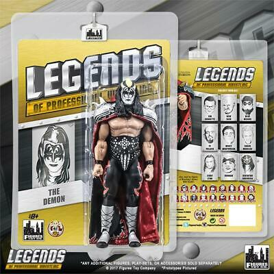 Kiss Demon Mask (The Kiss Demon Figures Toy Company Wrestling Legends Action Figures)