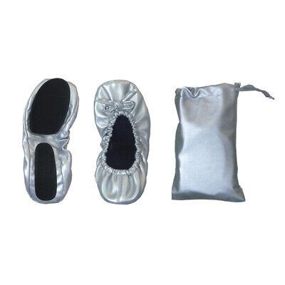 12 Manoletinas plegables grises con bolsa. Recuerdo boda, zapatillas, bailarinas