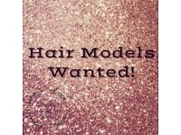 FREE HAIR MODELS WANTED