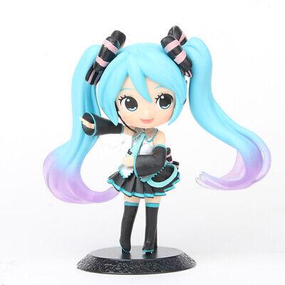 Hatsune Miku Anime Cute Girl 14CM PVC Action Figure Cake Topper Figurine Kid Toy](Anime Child Girl)