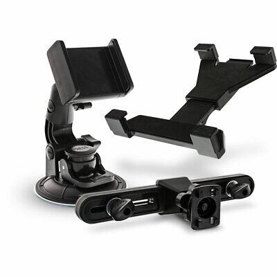 InLine® KFZ Mobile Set, Tablet/Handy Halterung für Kopfstütze/Scheibe universal