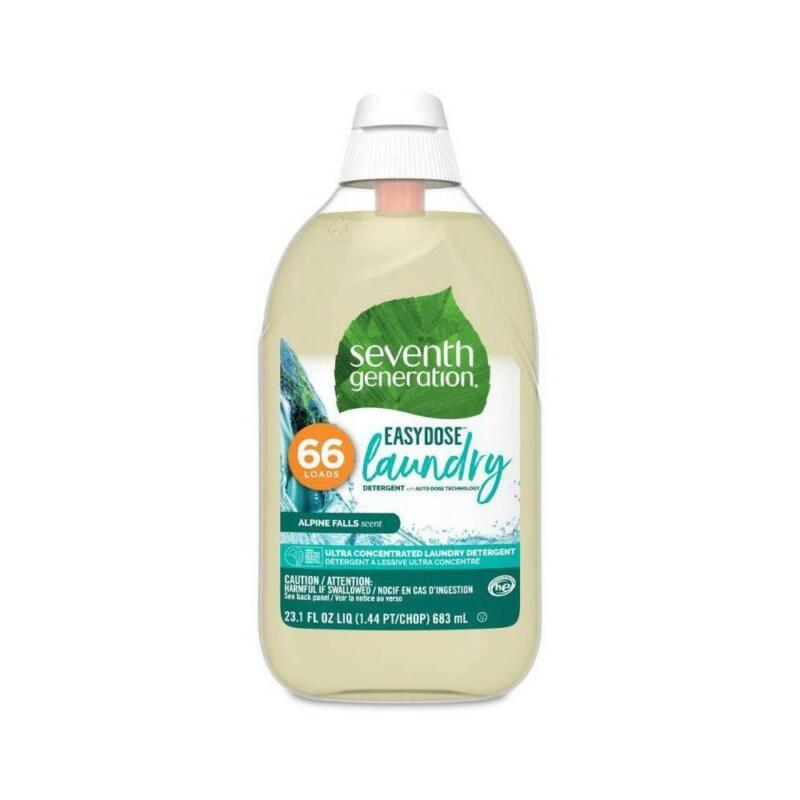 Seventh Generation Laundry Detergent Concentrated Alpine Falls 23 Oz