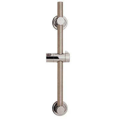 24in Slide Bar (Speakman 24 in. ADA Slide/Grab Bar in Brushed Nickel)