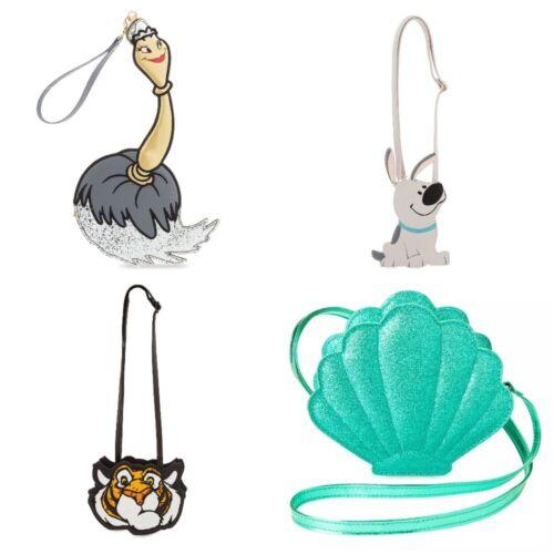 Disney Store Ariel Little Mermaid Feather Duster Mulan Brother Rajah Purse Bag