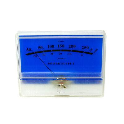 Panel Vu Meter Tn-90-blue Db Level Header Blue Lake Amplifier Audio Level Meter
