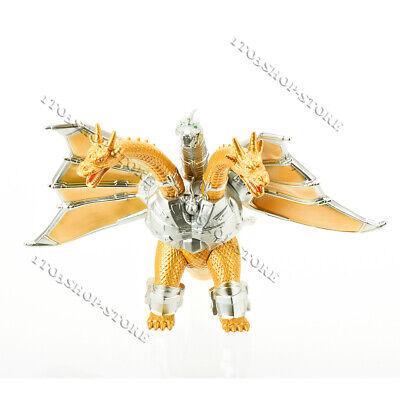 Godzilla King of the Monster Mecha Ghidorah Gidora 3 Head Gold Dragon 8