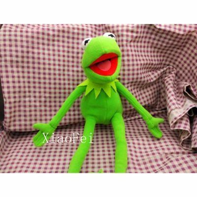 Eden Full Body Kermit the Frog Hand Puppet Memes Plush Toy Jim Henson soft New