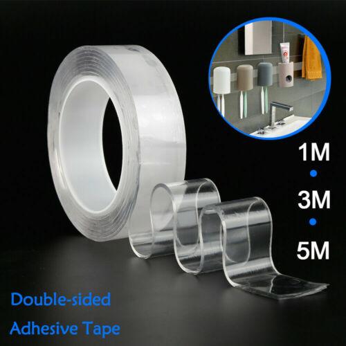 Doppelseitiges Grip Tape Traceless Washable Adhesive Tape Nano Invisible Ge F9E1