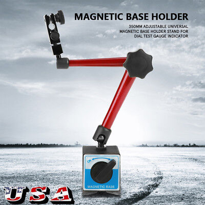 350mm Universal Flexible Magnetic Metal Base Holder Stand For Dial Indicator Us