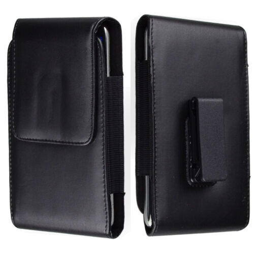 Premium Leather Phone Holster Case Carry Pouch Blet Clip For
