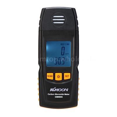Handheld LCD Carbon Monoxide Meter CO Gas Tester Monitor Detector 0-1000ppm US