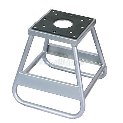 Motorcycle Motocross Dirt Bike Panel Stand 1000LB Silver