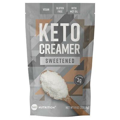 KETO Creamer with MCT Oil - for Coffee, Sweetened, Dairy Free, Vegan, Paleo, GF