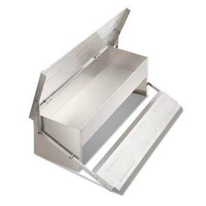 AUS FREE DEL-Aluminium Automatic Chicken Feeder 4.7KG - Silver Sydney City Inner Sydney Preview