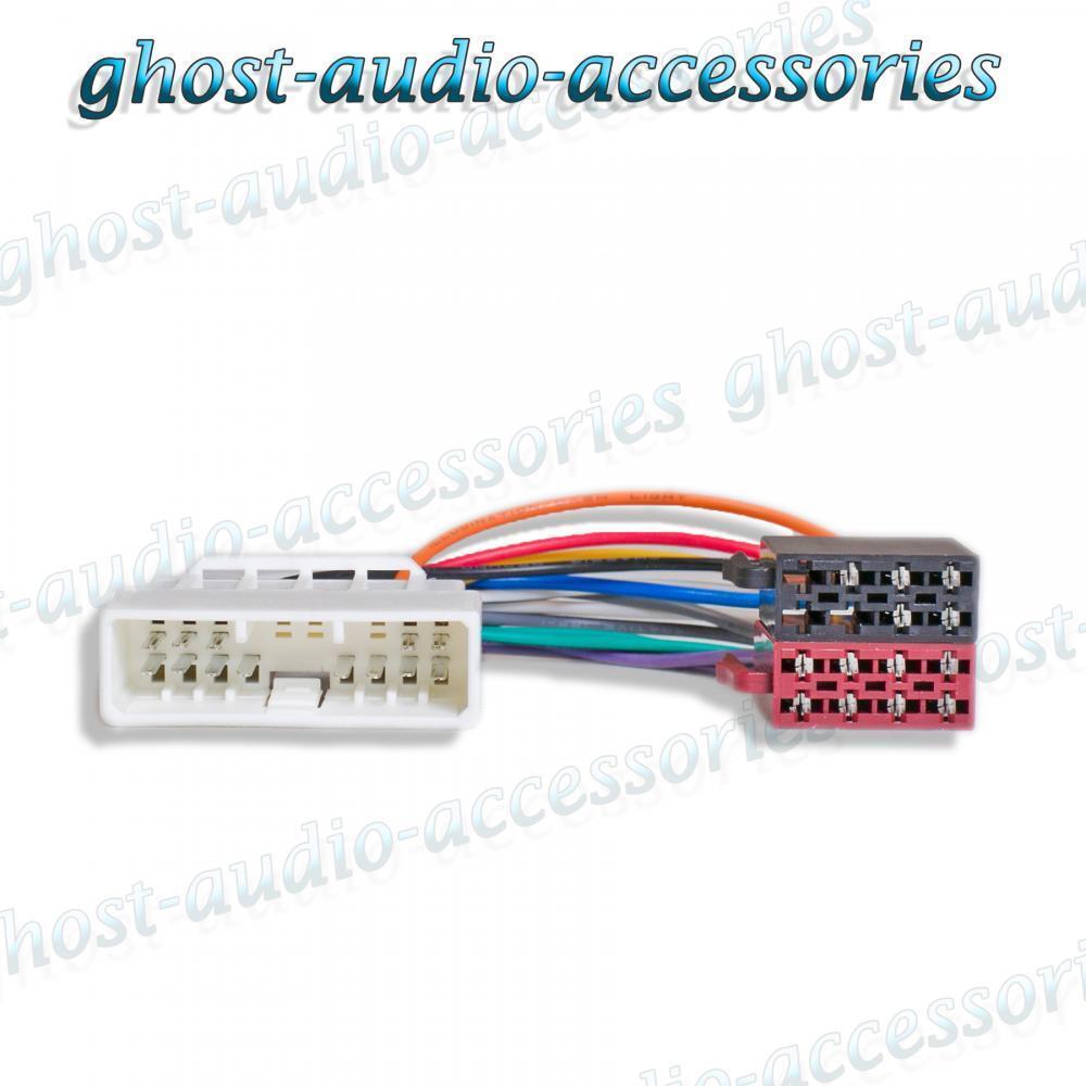 1998 Honda Civic Radio Wiring Harness Adapter : Honda civic iso radio stereo harness adapter