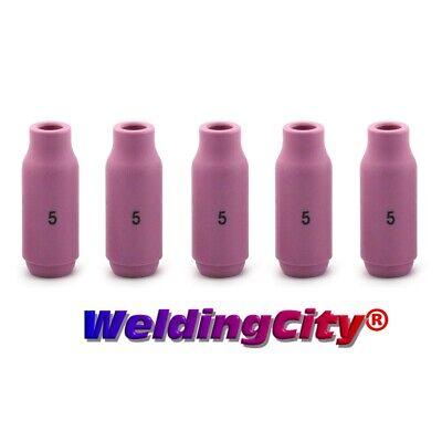 Weldingcity 5-pk Alumina Ceramic Cup 10n49 5 516 Tig Welding Torch 171826