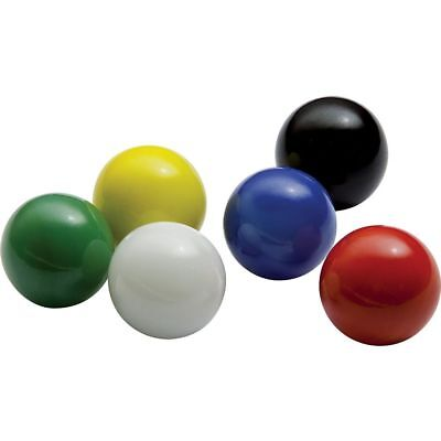30 Game Replacement Marbles 14mm -Solid Color Glass-30 Pieces - Square Game
