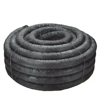 Corex Drain Pipe Perforated 4 in. x 100 ft. Sock Lightweight Flexible
