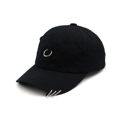 3b2facbb6ae Unisex Mens Womens Teamlife 4 Rings Baseball Cap Adjustable Trucker Hats  Black