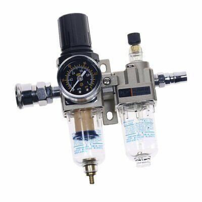 Air Compressor Oil Filter Regulator Pneumatic Water Separator 0-1mpa 0-150psi