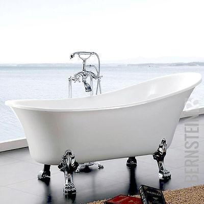 Freistehende Badewanne PARIS ACRYL  176x71  inkl. Ab-/Überlauf