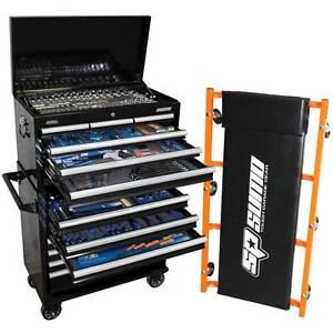 SP Tools 377pc Tool Kit in Sumo Box Bonus SUMO Garage Creeper Melbourne CBD Melbourne City Preview