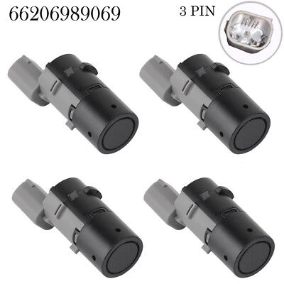 NEW 4 For BMW E39 E46 E53 E60 E61 E63 X5  66206989069 PDC Backup Parking Sensor