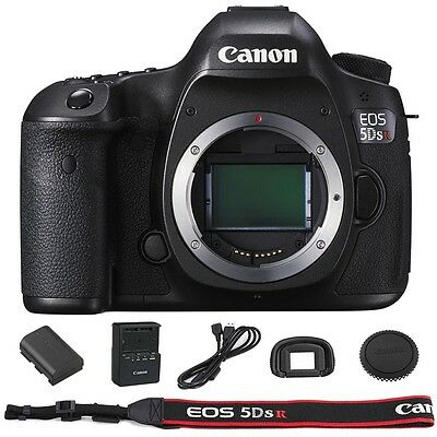 Canon EOS 5DSR / 5DS R Digital SLR DSLR Camera Body Brand New