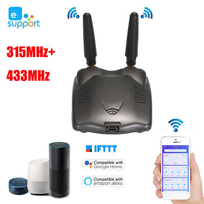 eWeLink Wifi RF Bridge 315MHz & 433MHz Automation Module Universal APP Control