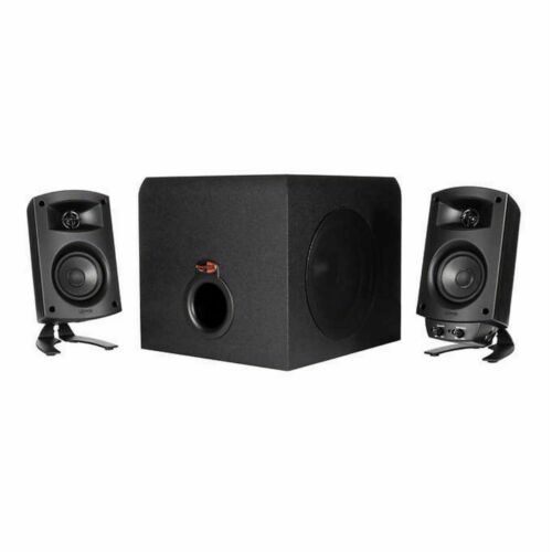 Klipsch ProMedia 2.1 THX Computer Speakers, 200 Watts of Dynamic Power @@