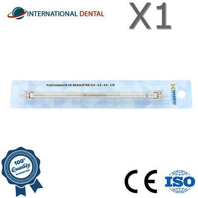 Orthodontic Dental Morelli Bracket Positioner Gauge Placement Instrument 2 Sided