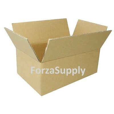 12 Corrugated Cardboard Boxes Shipping Supplies Mailing Moving - Choose 5 Sizes