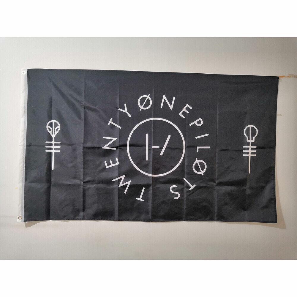 Cheap 3'x5' Twenty One Pilots Flag Banner Flying Polyester D