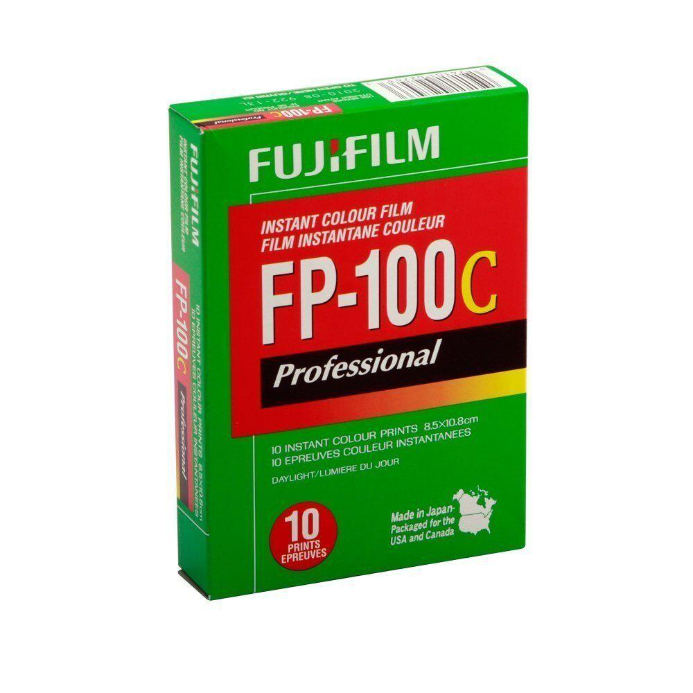 Fujifilm Fuji FP-100C Instant Color Film 10 Exposures 10/2018