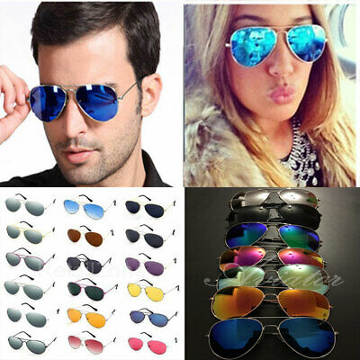 New Aviators Sunglasses Unisex UV Polarised Pilot Classic Vintage Retro Glasses
