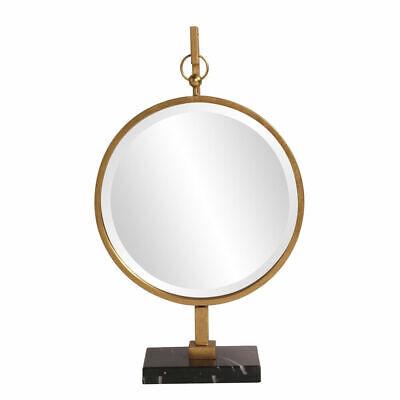 Howard Elliott Medallion Gold Mirror 11213
