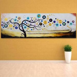 Dream Tree Hand Painted Wall Art - Wooden Framed Canvas Seven Hills Blacktown Area Preview