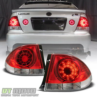 For 2001-2005 Lexus IS300 Lumileds LED Tail Lights 2pcs Lamps 02 03 - Is300 04 Tail Light Lamp