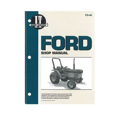 It Manual Fits Ford 1120 1220 1320 1520 1720 1920 2120 Fo-46 - Pm