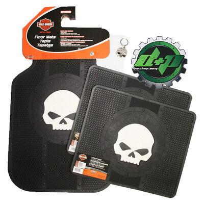 harley davidson bar & shield mini logo mat shop truck car floor mats HD 5pc SET