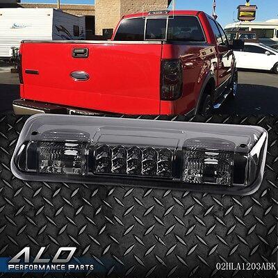- For 04-08 FORD F-150 Pickup Truck LED Third 3RD Brake Tail Light Lamp Black