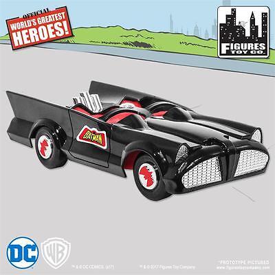 New Retro Mego Batman And Robin Dc Comics Batmobile Playset  Sealed Mib