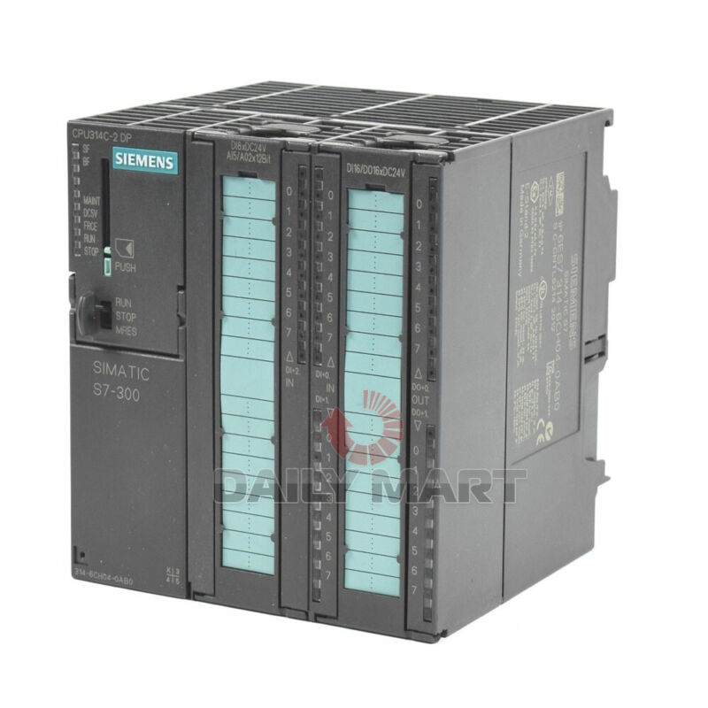New In Box SIEMENS 6ES7 314-6CH04-0AB0 SIMATIC S7-300 Central Processing Unit