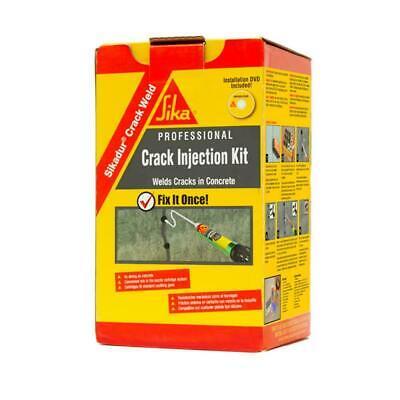 Crack Weld Injection Kit Concrete Repair Masonry Epoxy Caulking Sikadur Bond