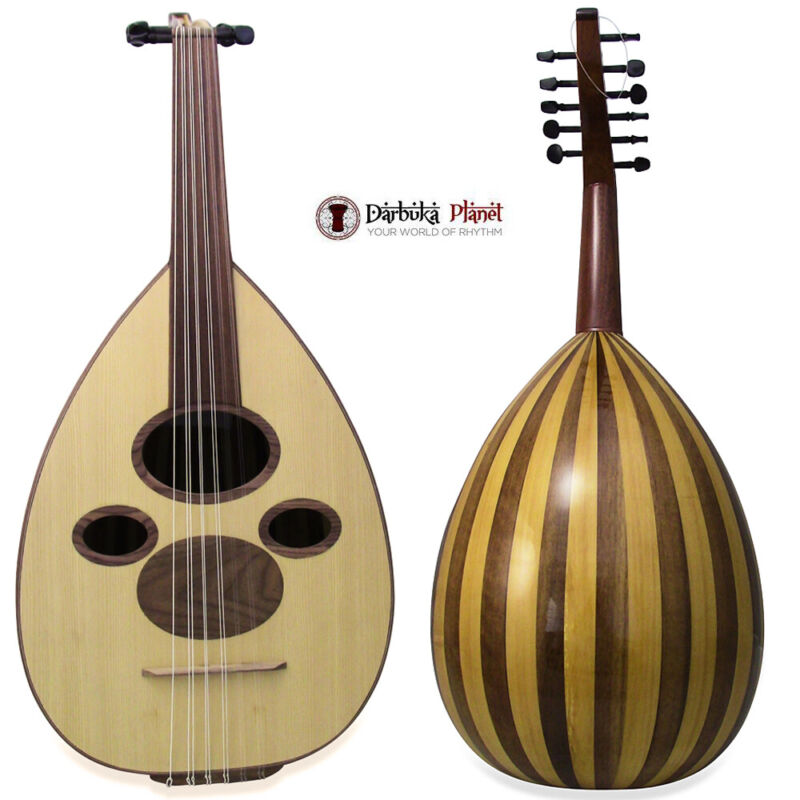 """Professional  Iraqi Arabic Oud """"Bagdad Star""""  with Soft carry case"""