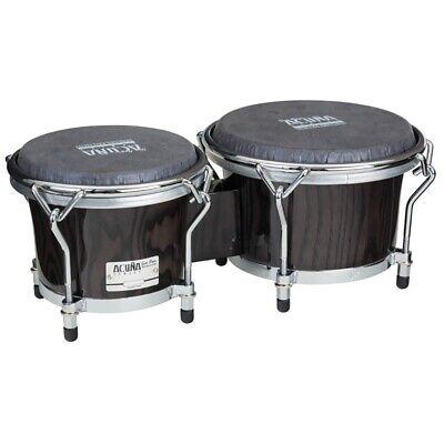 "Gon Bops AA0785SE Alex Acuna Special Edition Bongos Drums Black Ebony 7/8.5"""