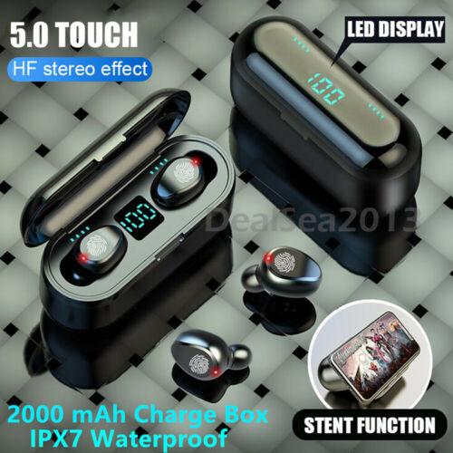 Bluetooth 5.0 Headset TWS Wireless Earphones Mini Earbuds St