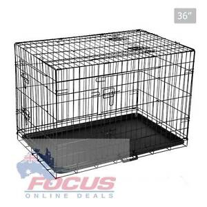 Foldable Pet Crate 36Inch North Melbourne Melbourne City Preview