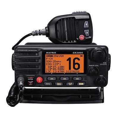 Standard Horizon Gx2000 Matrix Vhf Marine Boat Radio With...